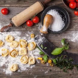 Hausgemachte Tortellini