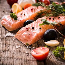 Täglicher frischer Fisch nach Wahl
